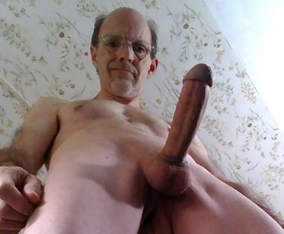 My erect cock
